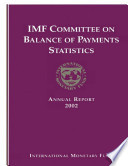 Imf Committee On Balance Of Payments Statistics Annual Report 2002 Epub