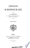 Chirurgie d'Hippocrate 1878 v. 2