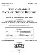 Canadian Patent Office Record Book PDF