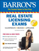 Barron S Real Estate Licensing Exams With Online Digital Flashcards