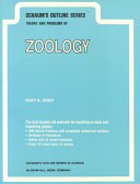 Schaum s Outline of Theory and Problems of Zoology