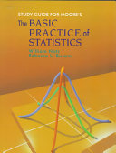 Cover of The basic practice of statistics