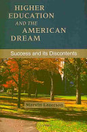 Higher Education and the American Dream