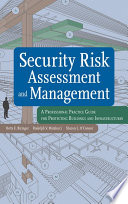 Security Risk Assessment and Management Book