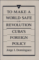 To Make a World Safe for Revolution