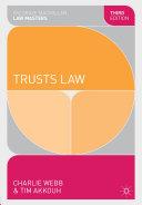 Trusts Law ebook