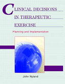 Clinical Decisions In Therapeutic Exercise Book PDF