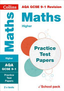 AQA GCSE Maths Higher Practice Test Papers