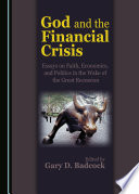 God and the Financial Crisis Book