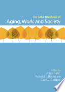 The Sage Handbook Of Aging Work And Society Book PDF