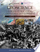 Geoscience for the Public Good and Global Development