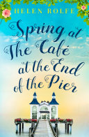 Spring at the Caf   at the End of the Pier