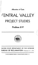Central Valley Project Studies