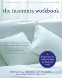 Pdf The Insomnia Workbook Telecharger