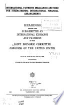Hearings  Reports and Prints of the Joint Economic Committee Book