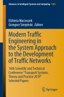 Modern Traffic Engineering in the System Approach to the Development of Traffic Networks
