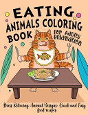 Eating Animals Coloring Book Book