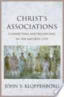 Christ   s Associations