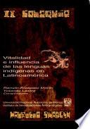 Vitalidad e influencia de las lenguas indígenas en Latinoamérica