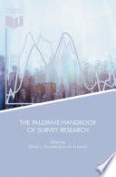 """The Palgrave Handbook of Survey Research"" by David L. Vannette, Jon A. Krosnick"