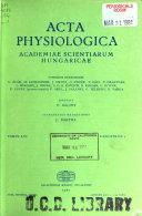 Acta physiologica