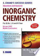S Chands Success Guide  Q A  Inorganic Chemistry