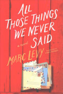 All Those Things We Never Said  UK Edition