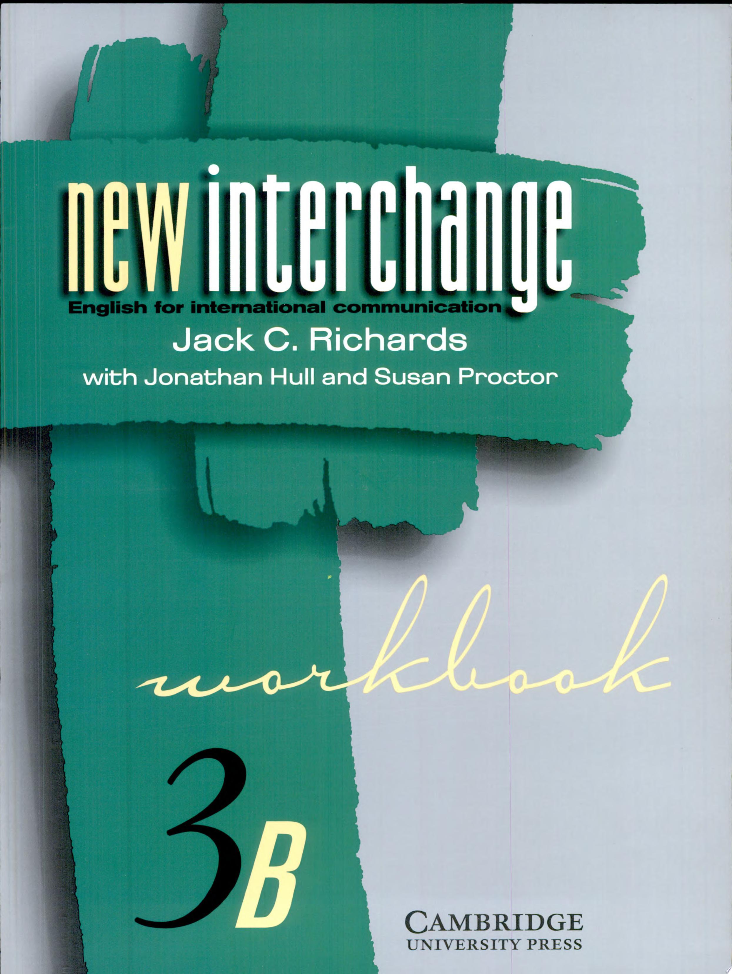 New Interchange Workbook 3B