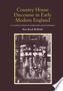Country House Discourse in Early Modern England
