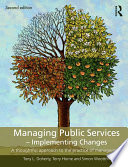 Managing Public Services   Implementing Changes