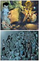 Alan Moore's the Courtyard Deluxe Hardcover Set