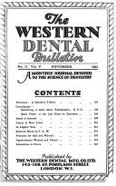Western Dental Monthly Bulletin