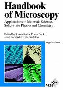 Handbook of Microscopy  Applications