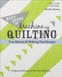 Next Steps in Machine Quilting Fre