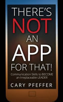 There's Not an App for That