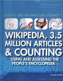 Wikipedia  3 5 million Articles   Counting