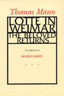 Pdf Lotte in Weimar