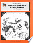 A Guide For Using In The Year Of The Boar Jackie Robinson In The Classroom