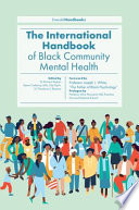 The International Handbook of Black Community Mental Health