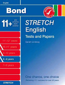 Bond Stretch English Tests and Papers 8 9 Years