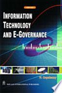 Information Technology And E Governance