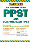 Barron's how to Prepare for the PPST Computerized PPST