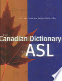 The Canadian Dictionary of ASL Book