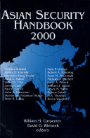 Asian Security Handbook 2000