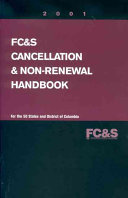 Fire  Casualty  and Surety Cancellation and Non renewal Handbook