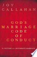 God s Marriage Code of Conduct Book