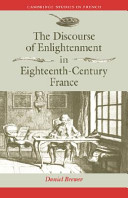 The Discourse of Enlightenment in Eighteenth Century France