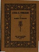 Lydia E  Pinkham