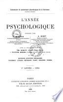 L'Année psychologique