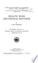 Health Work And Physical Education